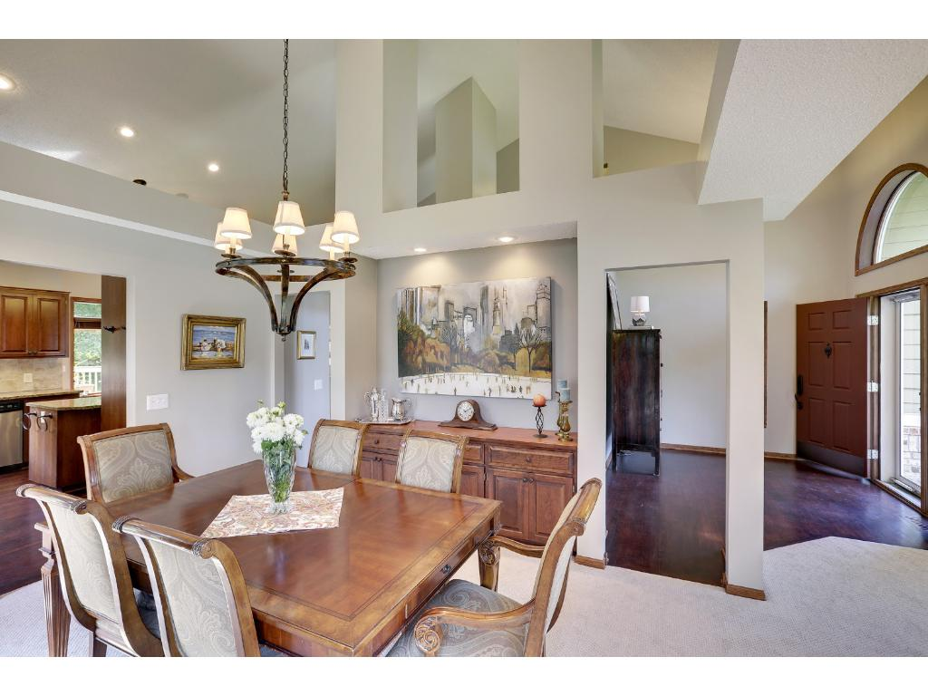 Formal Dining Room with great built-in