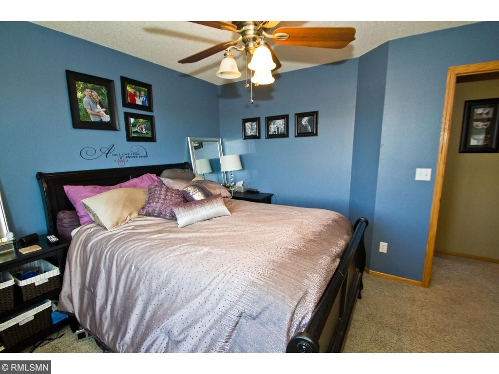 A second view of the master bedroom - calm, quiet.... this is your haven!