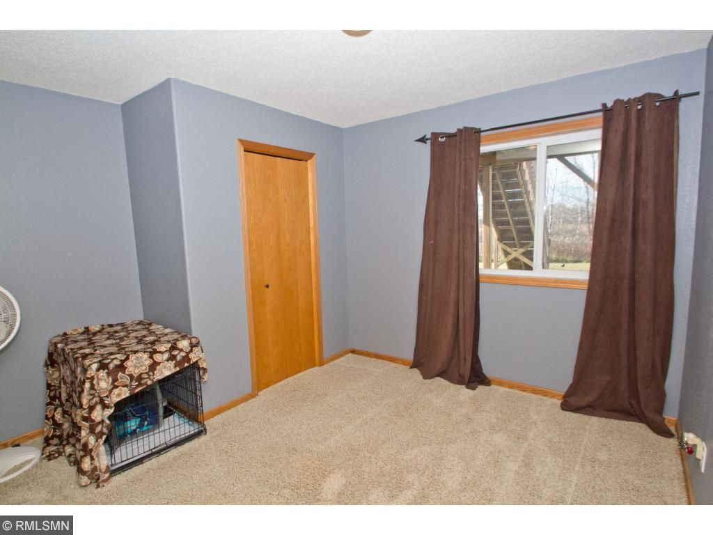 Another view of the fourth bedroom with the nice sized closet.