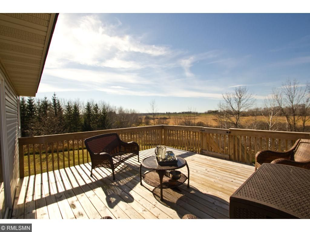 This deck is simply wonderful - you feel entirely alone in the world here, completely secluded.  You'll love spending time out here!