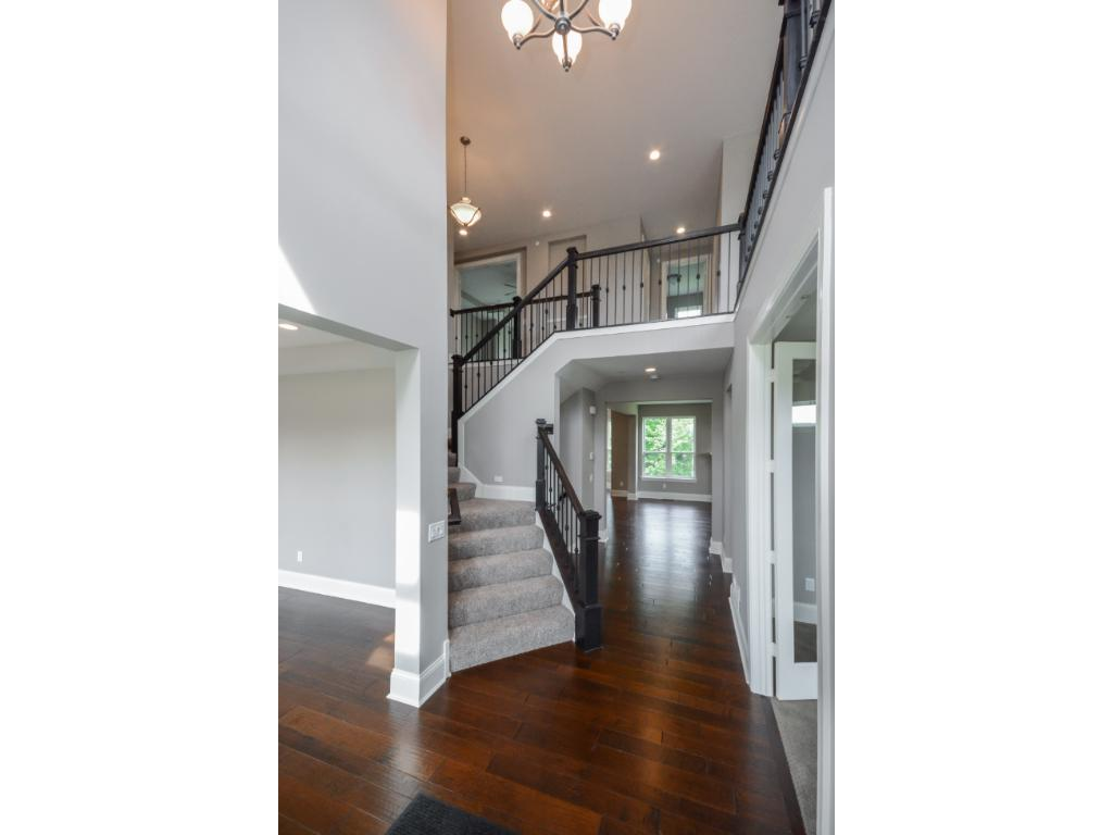 Grand 2-story entrance into this gorgeous home-ready for move in.