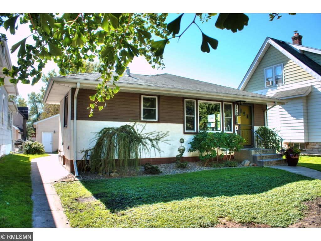 Great curb appeal!  Welcome to 870 Watson!