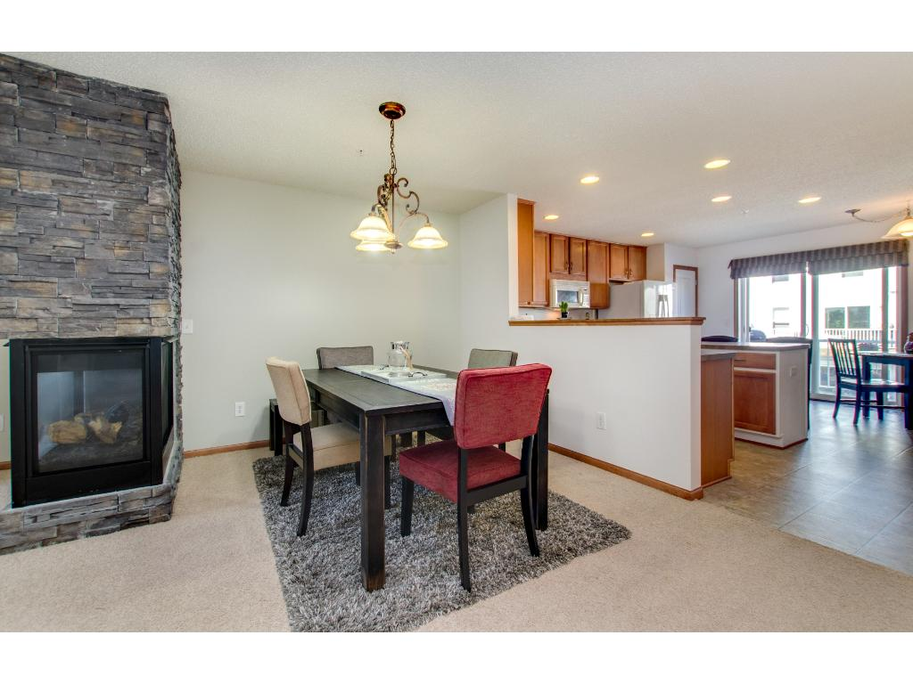 The Dining Room is open to the living area and kitchen.  Like the furnishings? Sellers will sell them!  Just move in.
