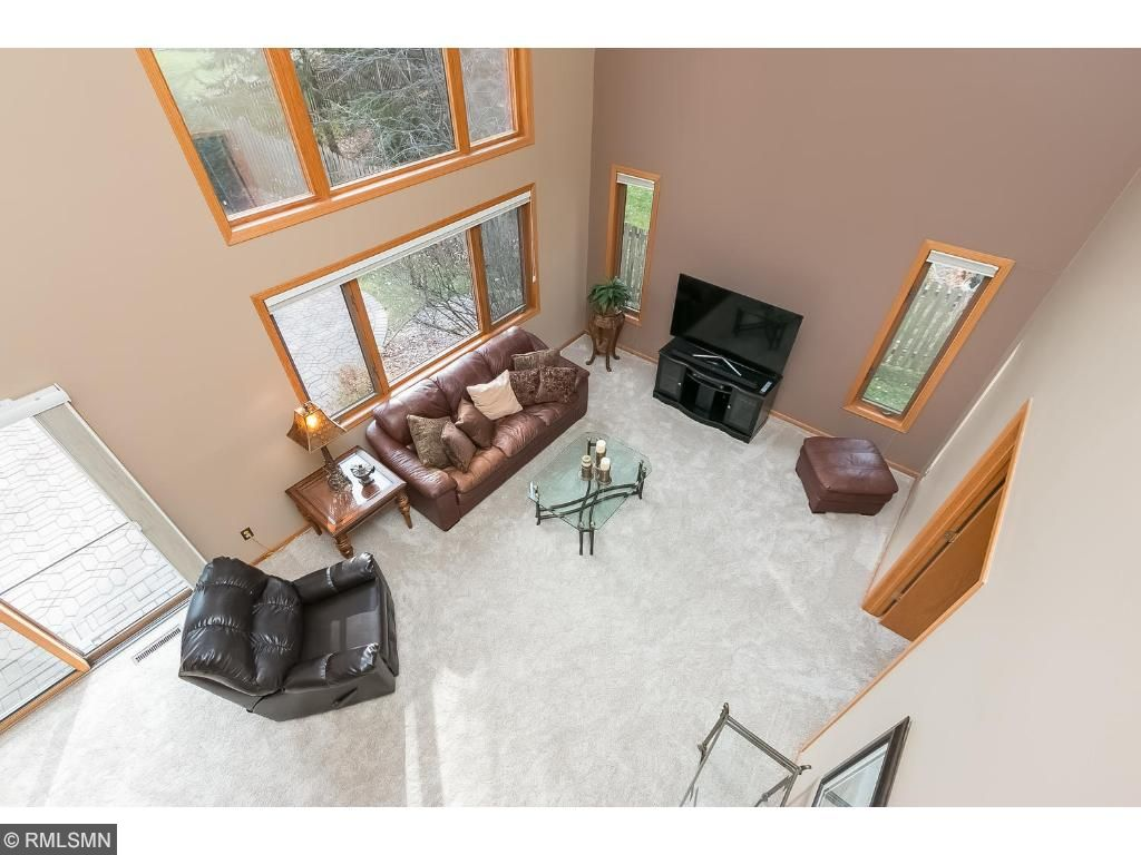 Family room view from the upper level
