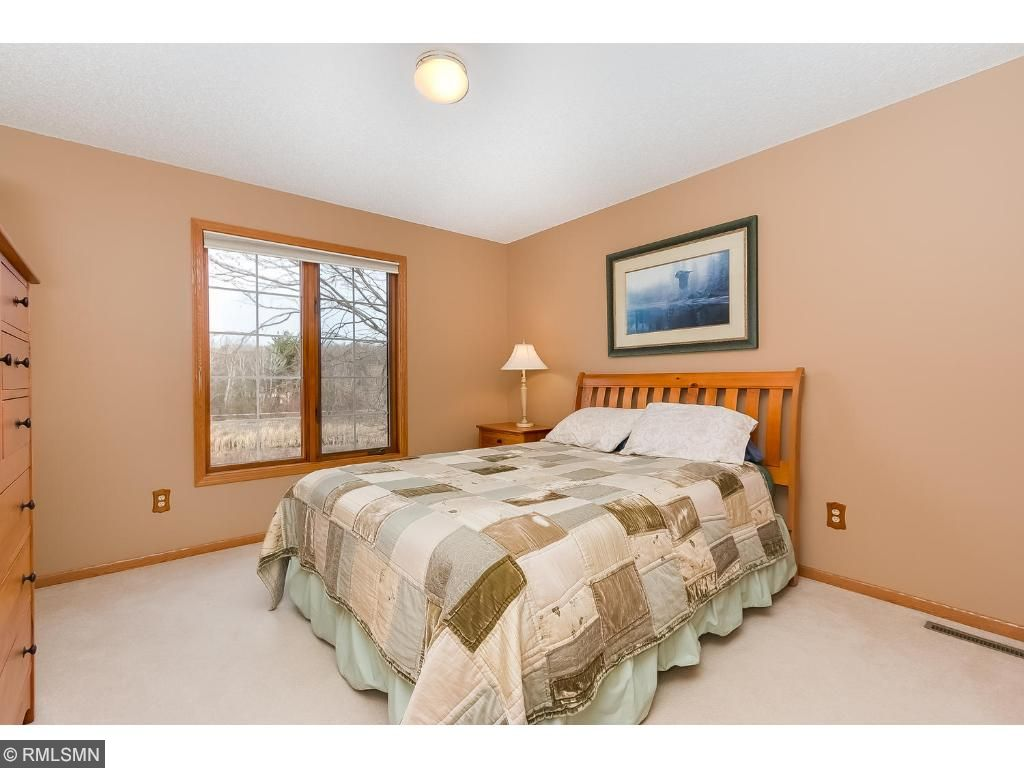 One of two more bedrooms on the upper level