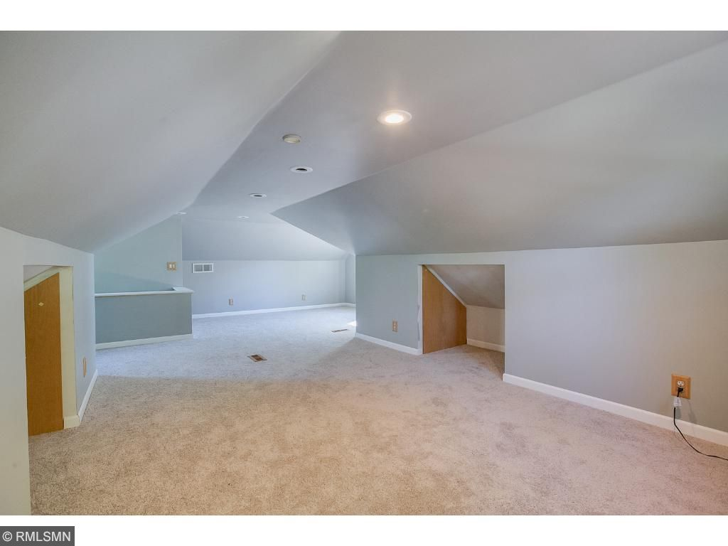Massive upper level master suite with built in storage!