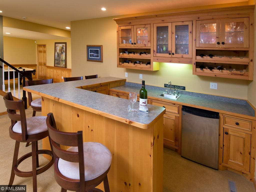 Wet bar-The new 19th Hole!