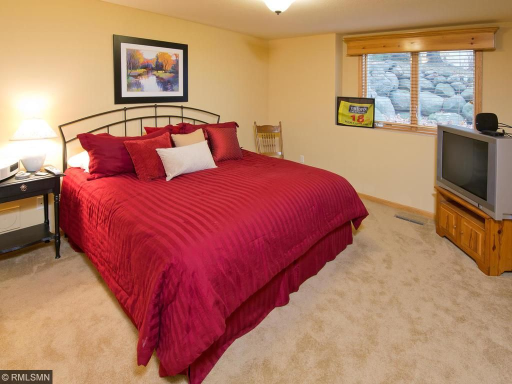 One of 3 Bedrooms in lower level!