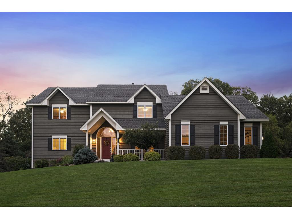 Welcome to 8820 Ridge Ponds Drive.  Custom built by Kerber homes and nestled on a quiet street in the wonderful Deer Run Golf Course community!