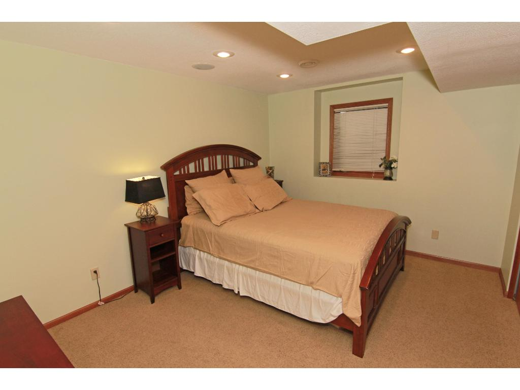 Lower level guest bedroom or for older child.