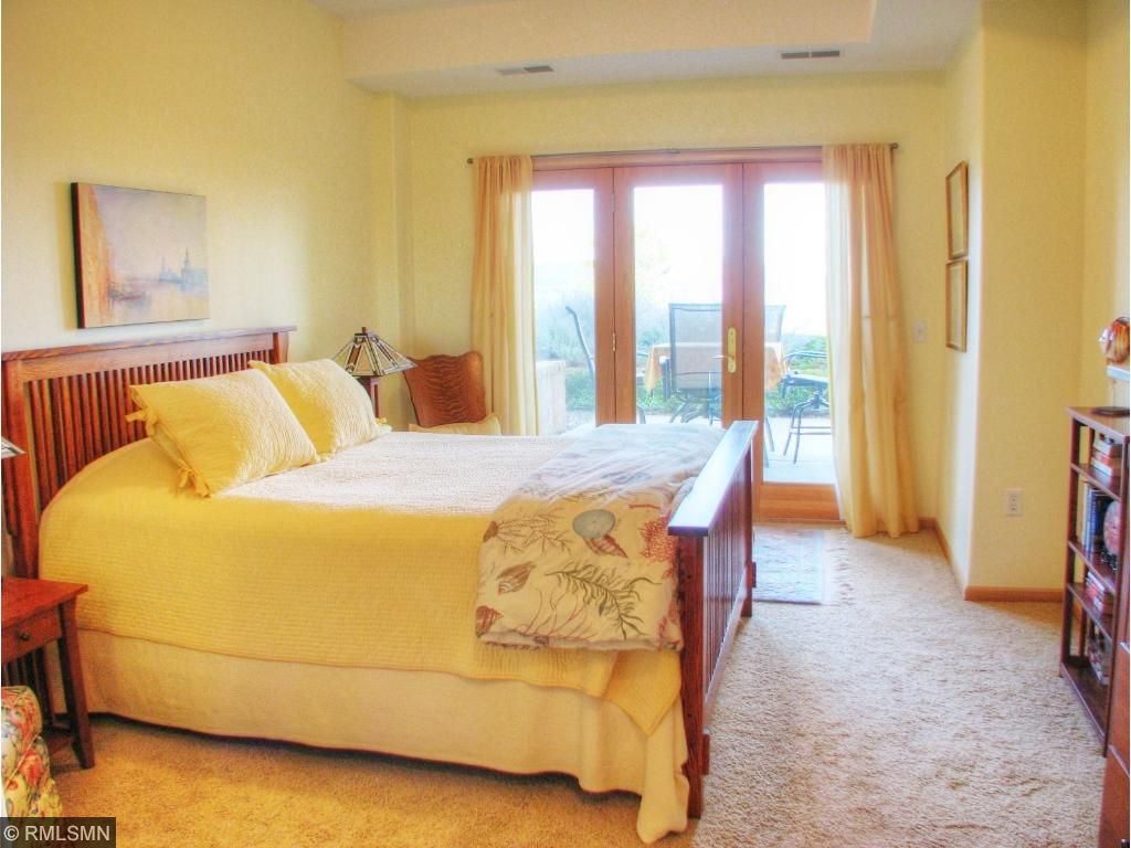 Master Suite w/ door to your private patio.