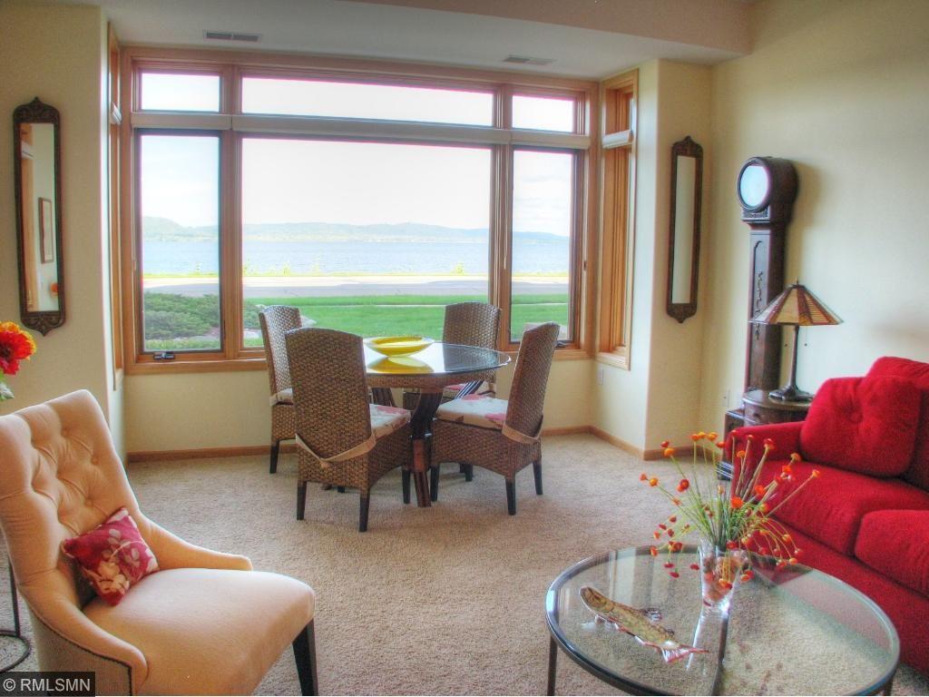 Livingroom w/ plenty of space for dining!