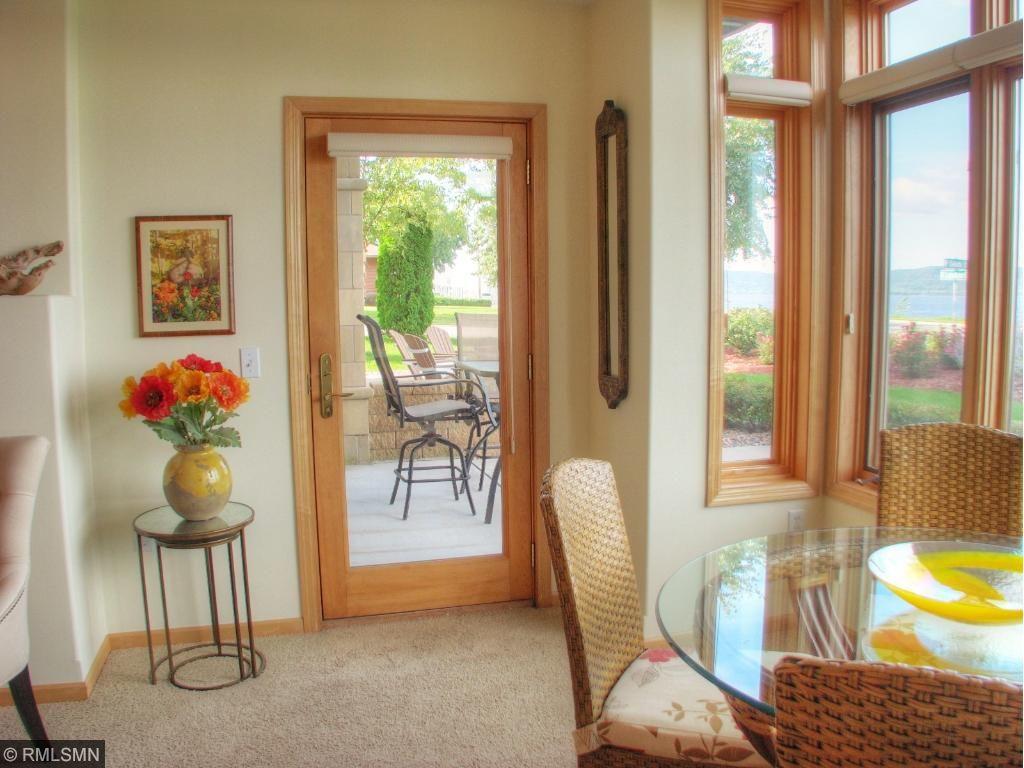 Door off livingroom to your private patio.