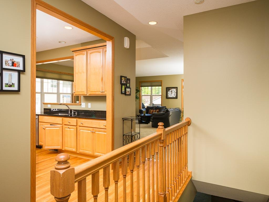 Open and flowing main floor offers plenty of natural light and room for entertaining.