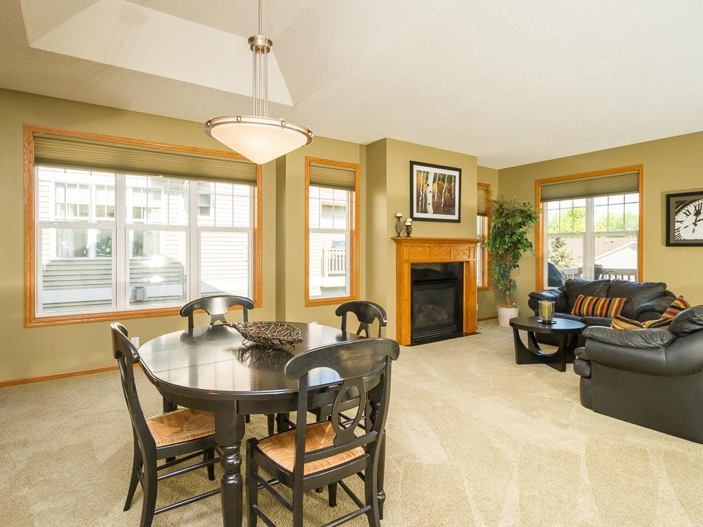 Plenty of windows for natural light, along with top of the line window treatments.