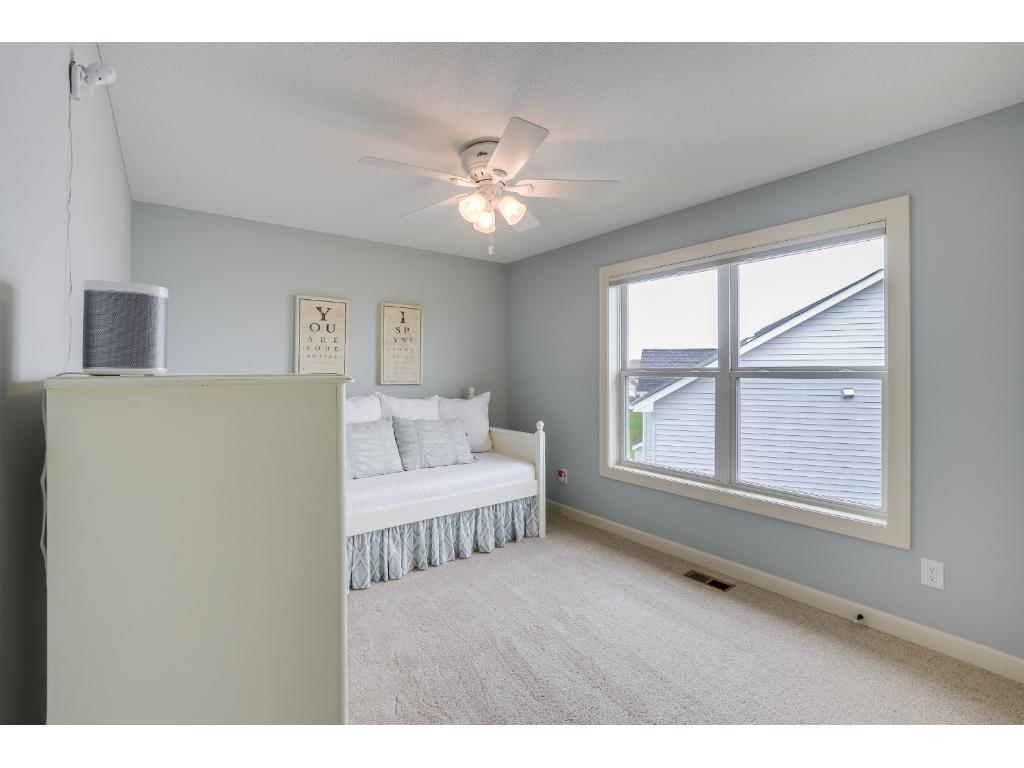 One of three bedrooms located on the upper level in addition to the master suite!