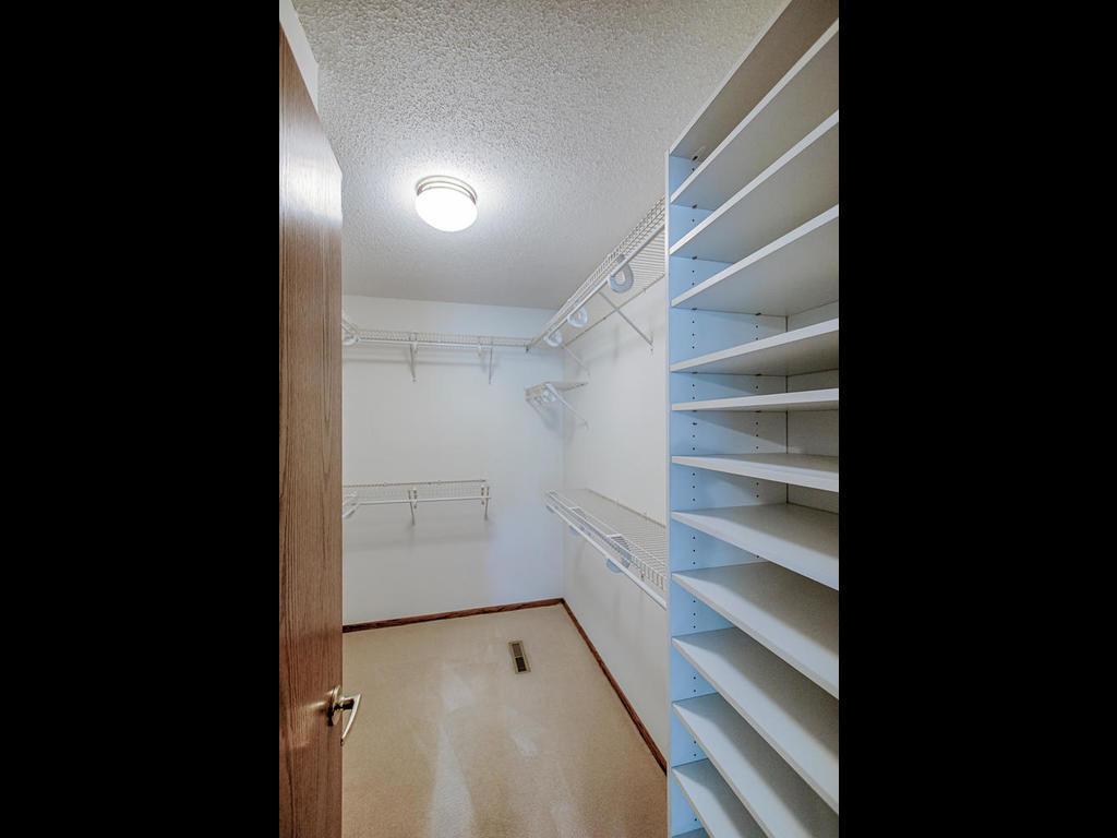 Huge walk-in closet in master bedroom, move in ready!