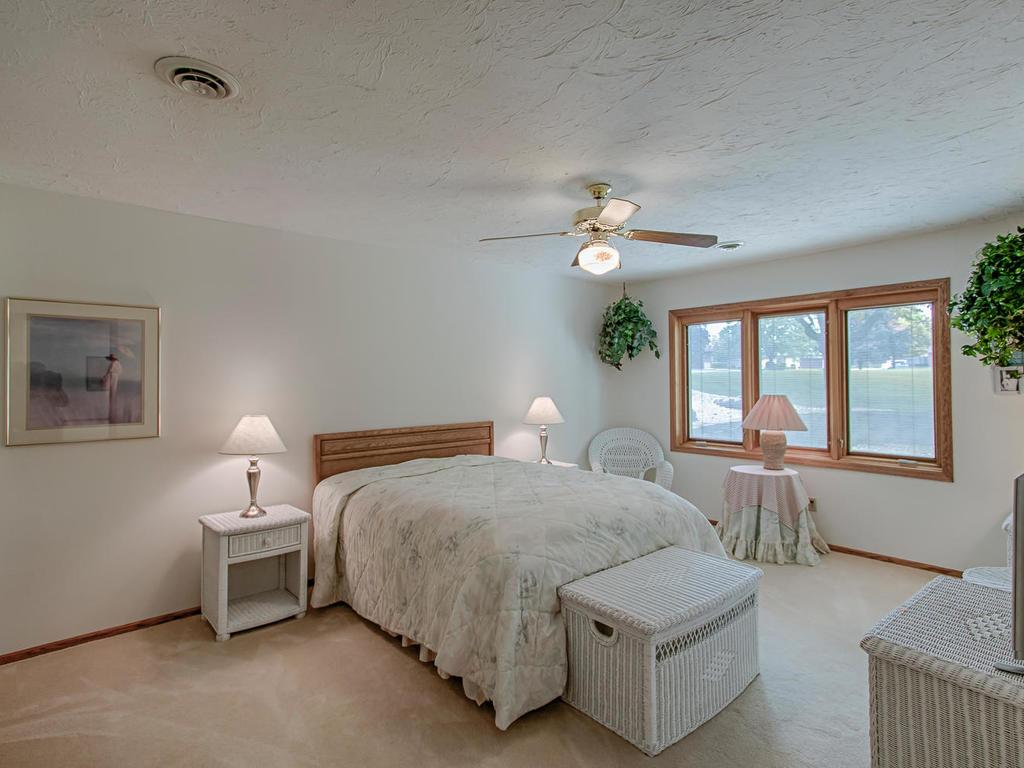 Giant lower level bedroom