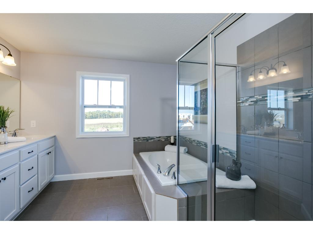 Master Bathroom, plenty of design choices for this space