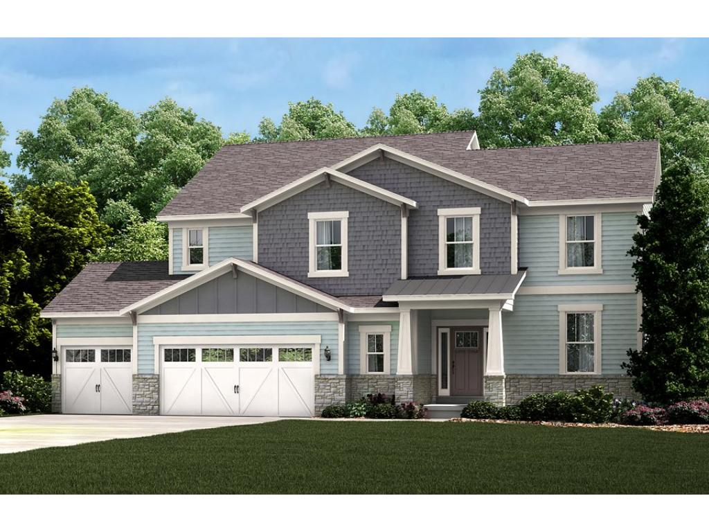 Photo of a Model Home. Exterior Style will be similar.