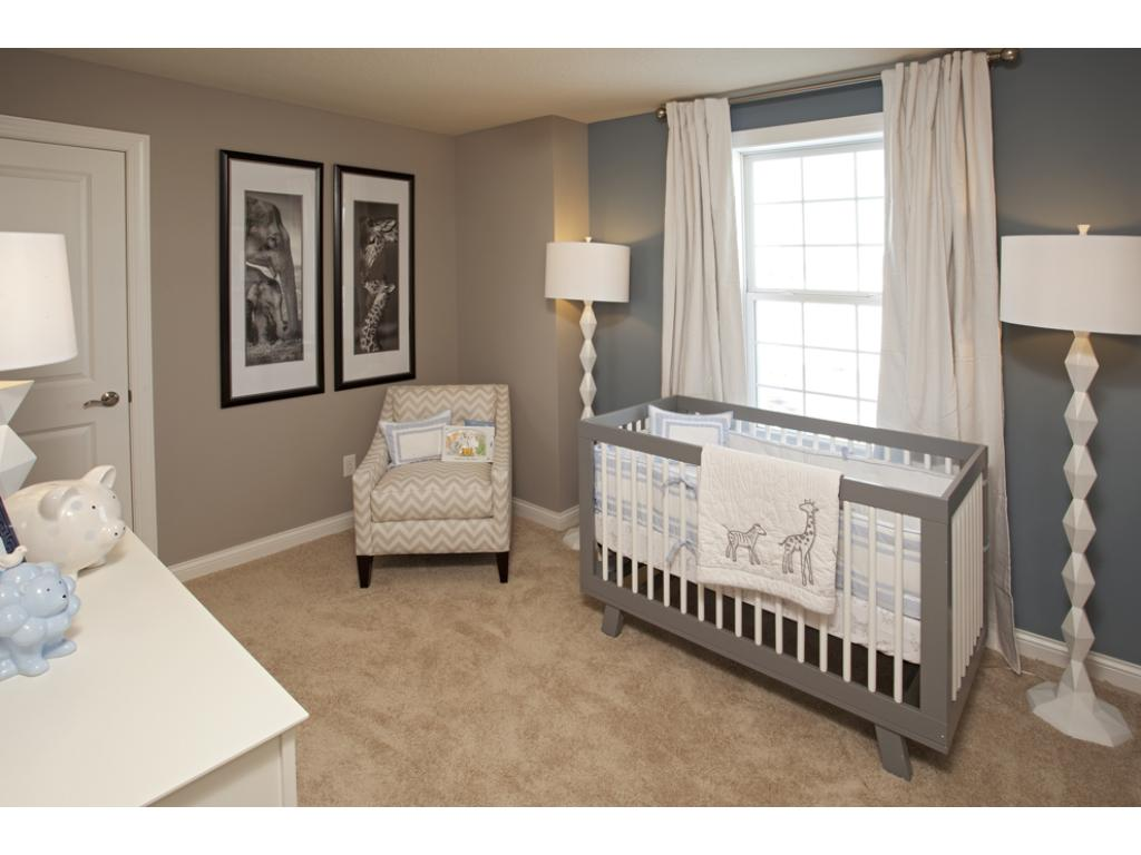 Photo of a Model Home. Bedroom 3
