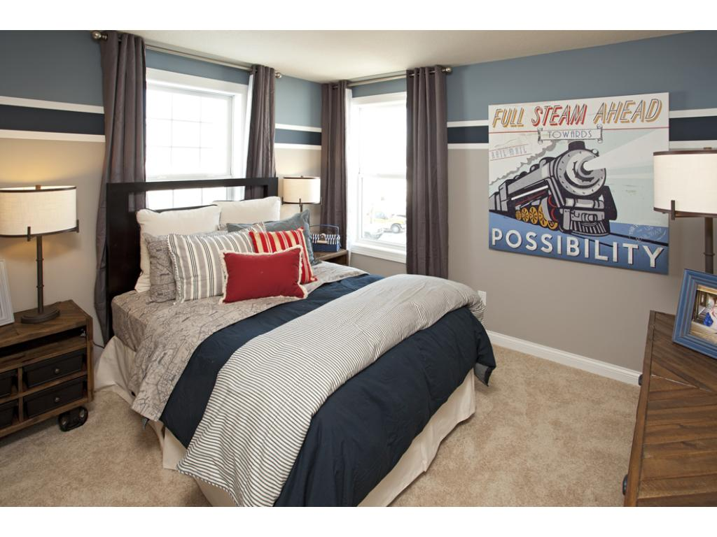 Photo of a Model Home. Bedroom 4