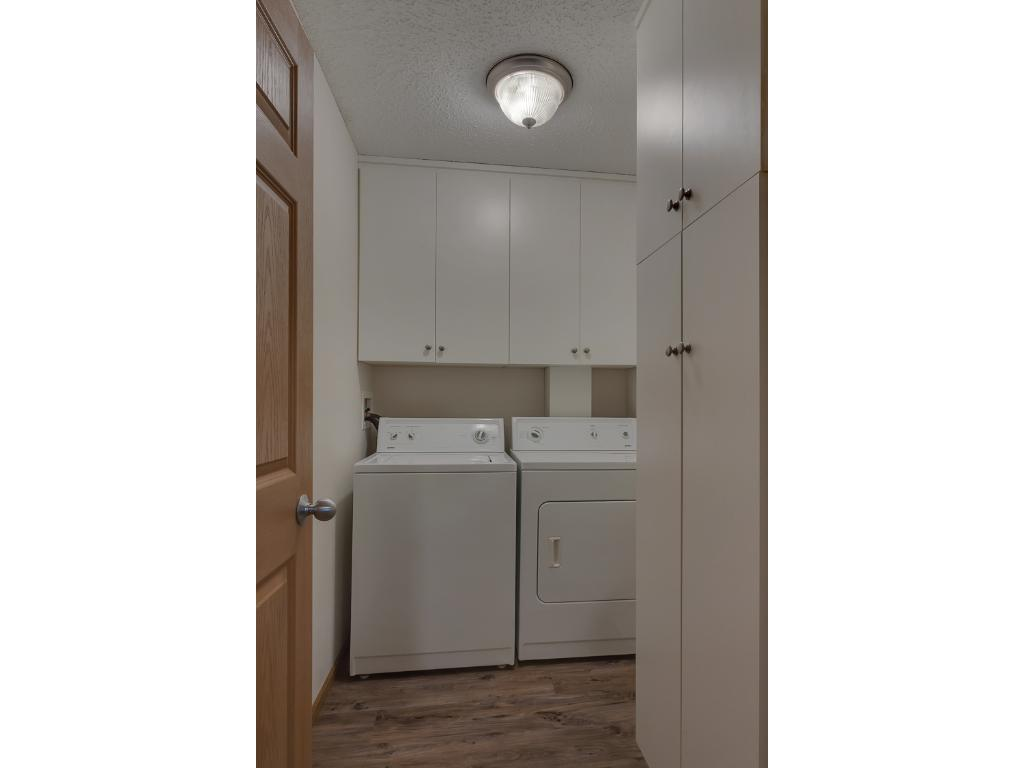 Laundry area with storage!