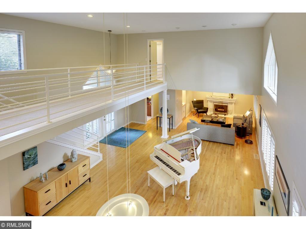 Sunny open floor plan