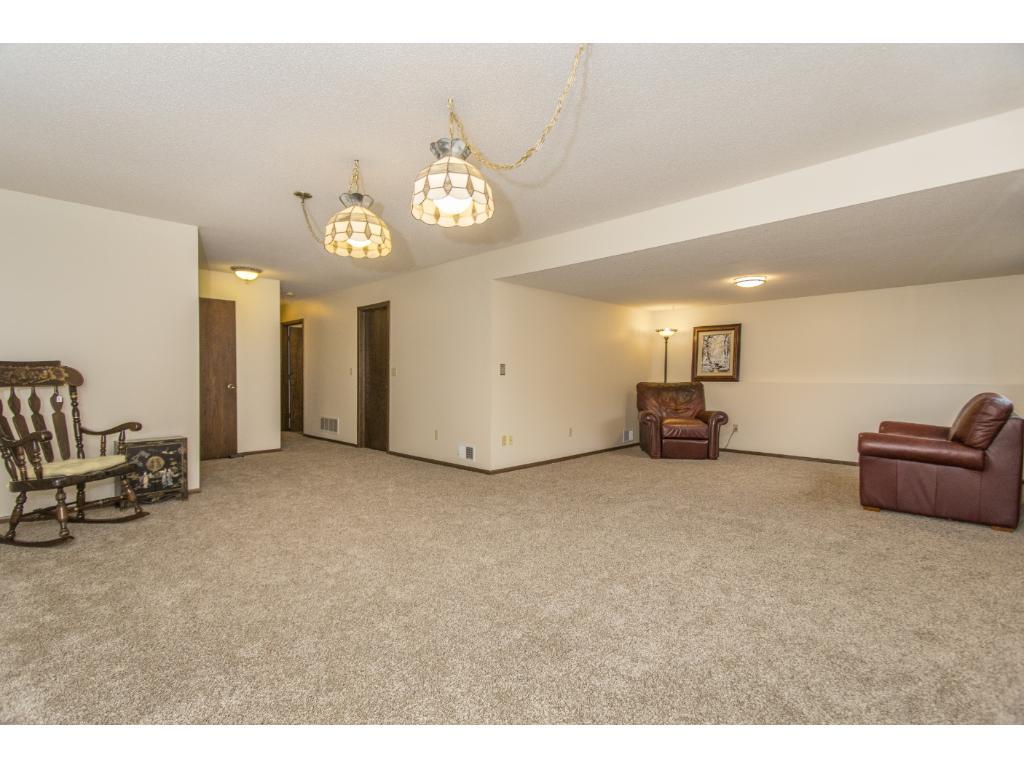 Huge lower level family room