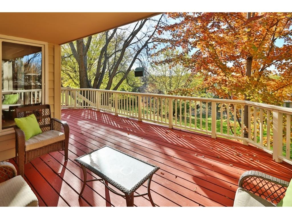 This is a great Deck!  It's spacious and part of it is covered.  The Deck flooring and rails were  just painted in October 2016.
