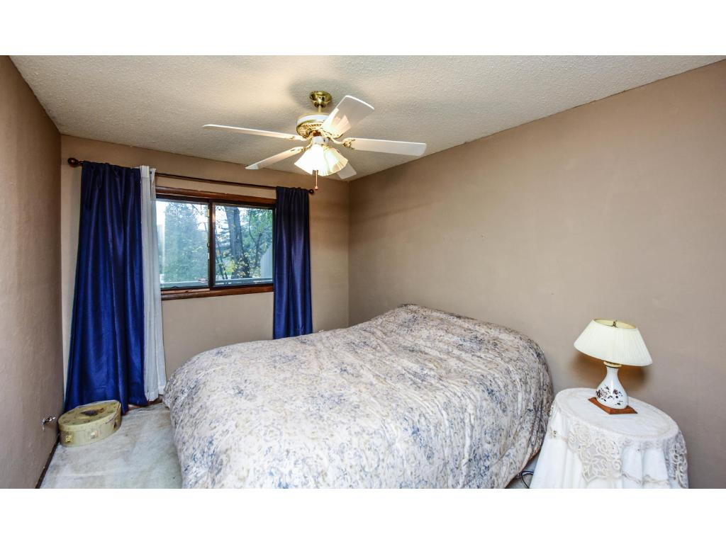Master bedroom suite with newer carpeting and paint!
