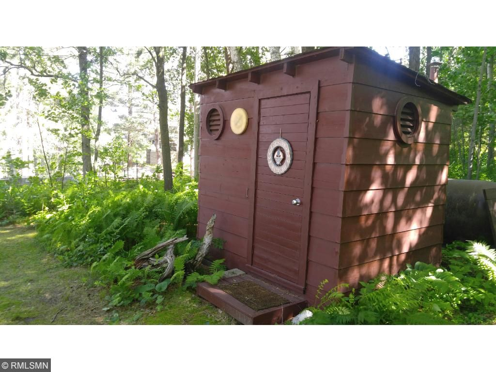 This is no ordinary outhouse!