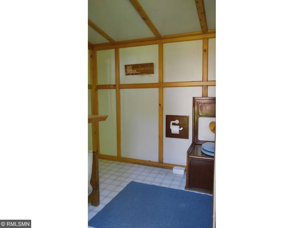 This outhouse is one of a kind, clean and pumped regularly.