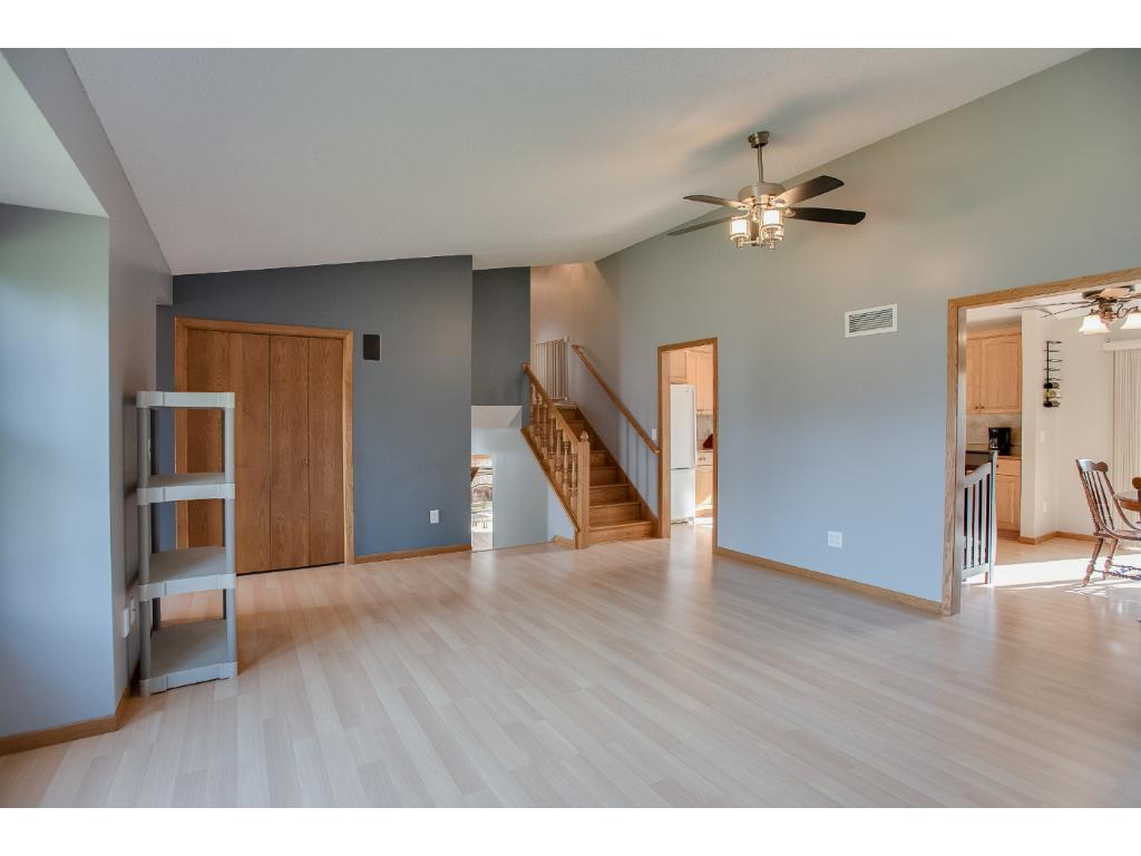 Spacious!  Large open floorplan with vaulted ceilings!