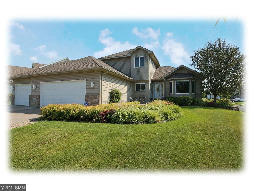 Enjoy this quiet corner lot with spacious backyard offering scenic wetland views.  Spacious 3 car garage with concrete driveway is a plus!