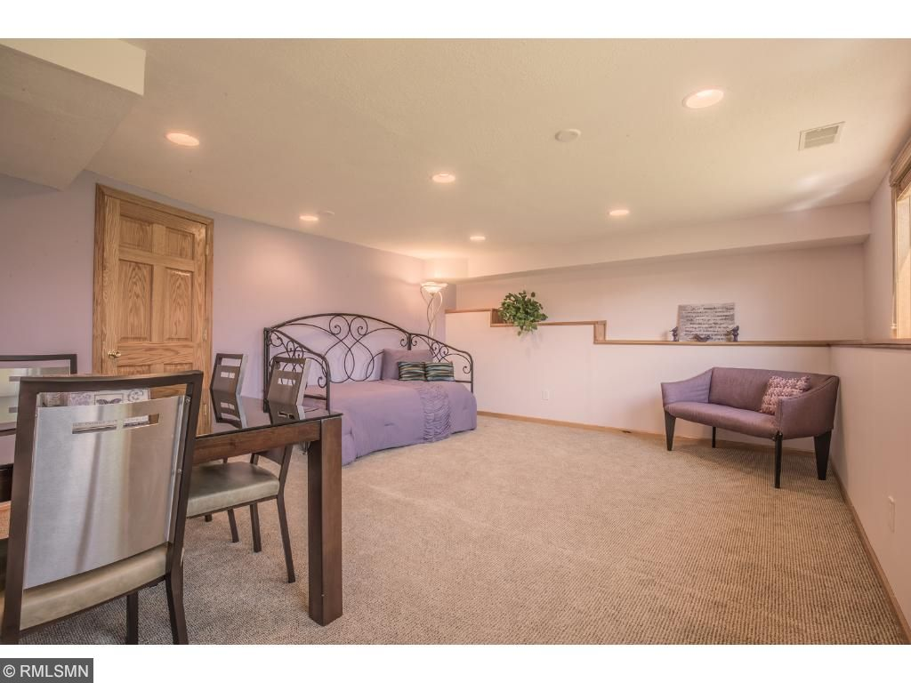 Floor plan allows for so many options: bedroom, exercise room, home business?.