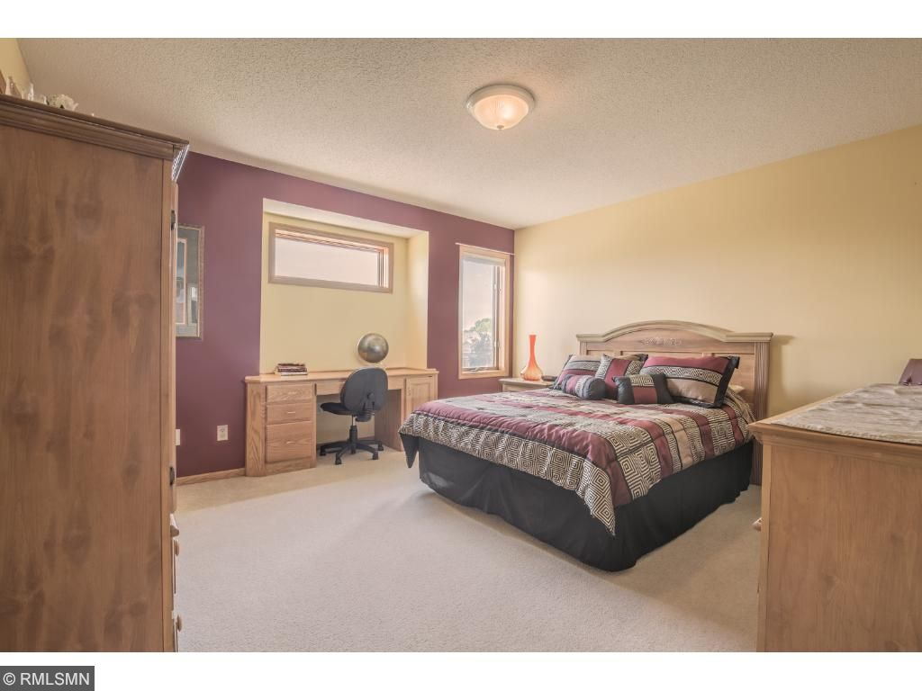 Spacious secondary bedrooms.