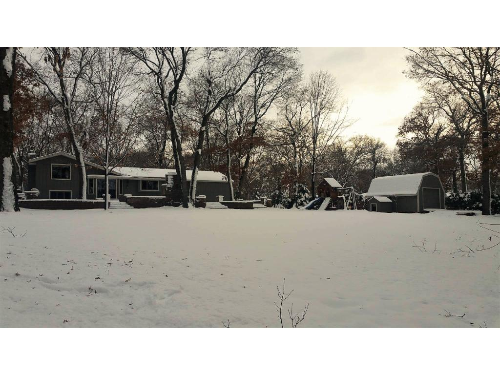 Expansive yard space on the nearly 2.5 acre lot!