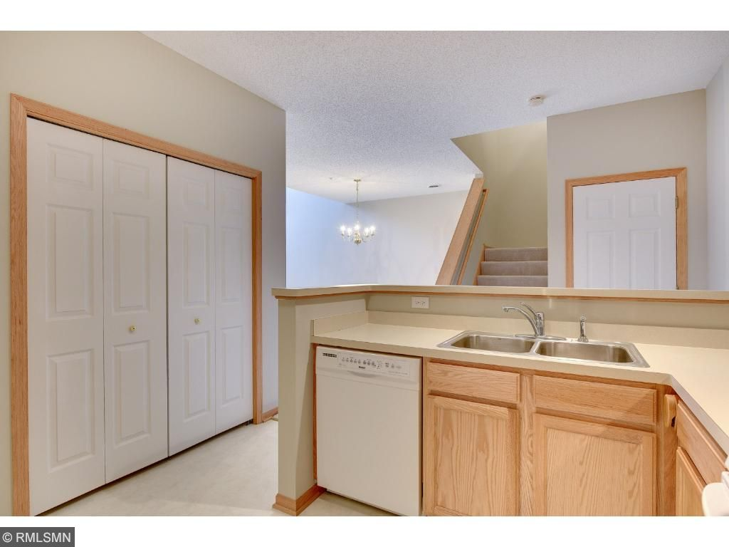 Kitchen has large pantry for all your storage needs.