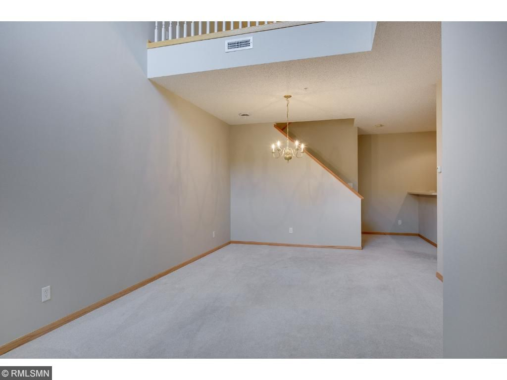 Both living room and dining area have ample space for entertaining.