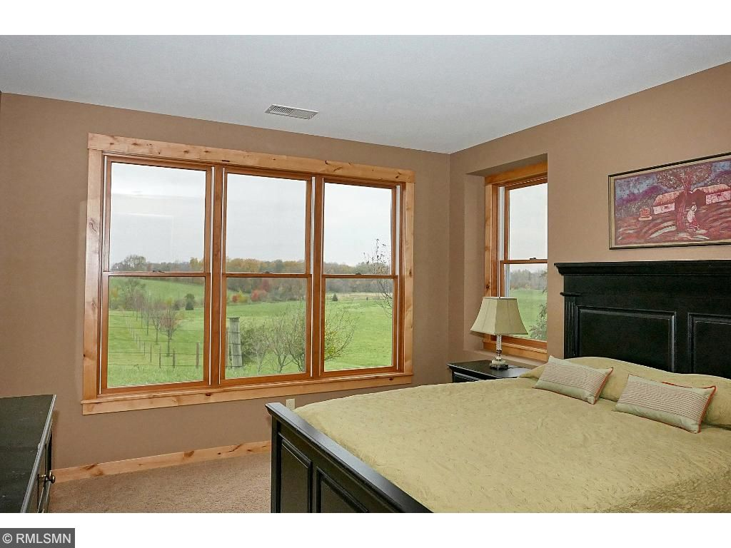 Two bedrooms with views; one full bathroom and one 3/4 bath.