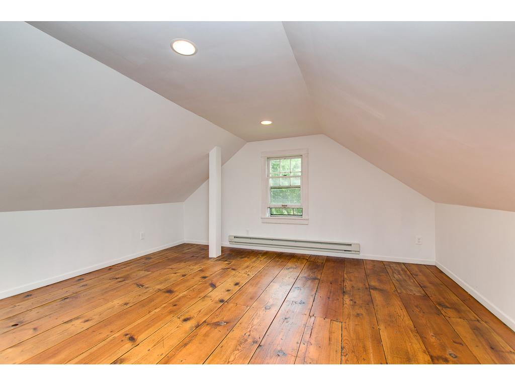 Other End Of The Large Upstairs Bedroom--Note the Beautiful Plank Floors