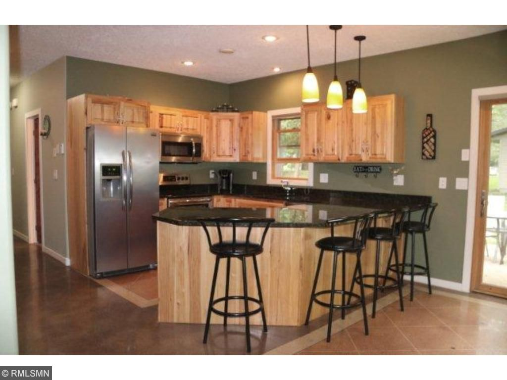 Stamped Concrete Kitchen Floor 9753 Holly Place Nw Rice Mn 56367 Mls 4751922 Edina Realty
