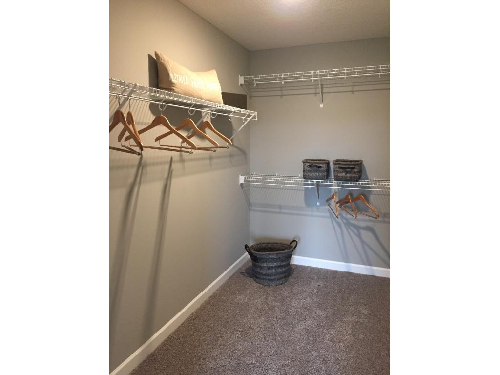 Huge walk-in closet!