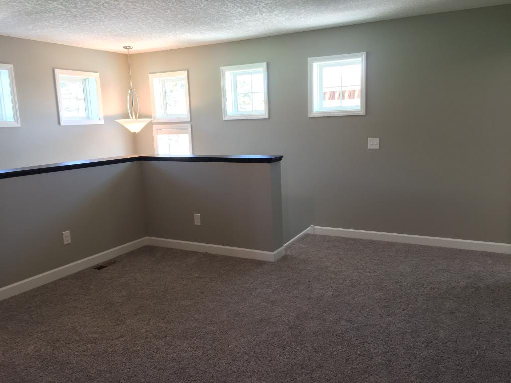 Loft - great bonus space for office, playroom, or secondary living space!