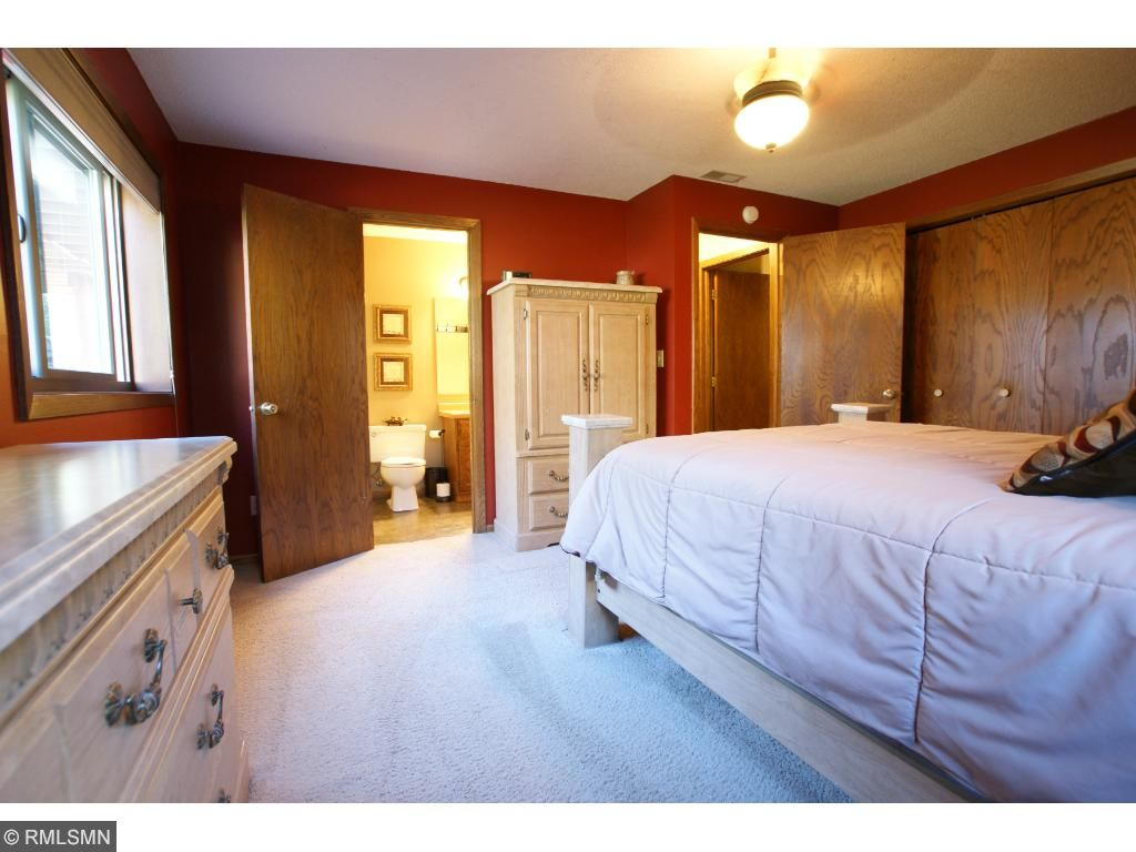 Master bedroom with attached master bath!