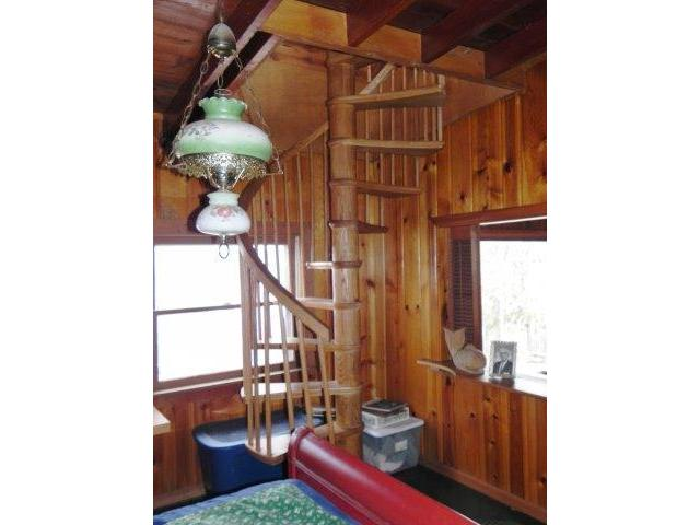 Spiral Staircase to Upstairs Addition