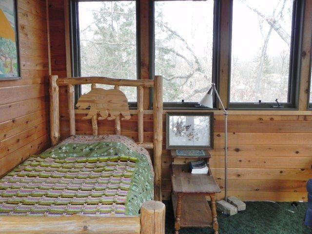 Upstairs Addition Used As Non-Conforming Bedroom
