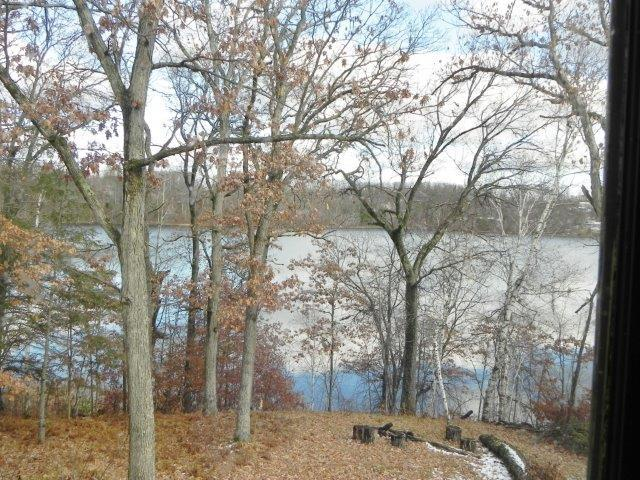 View of Bluff Lake From Upstairs Addition