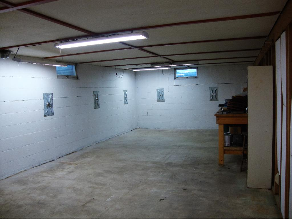 First large open area in basement